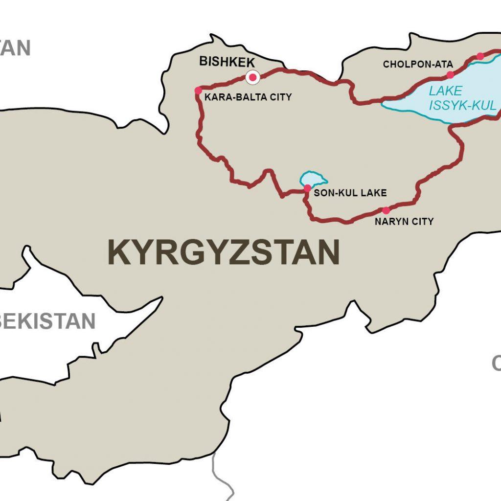 Тянь Шань 10 дней в Киргизии