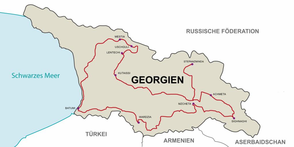 12 дневный Мотоциклетный тур по Грузии: «Дружба, Культура, Природа».