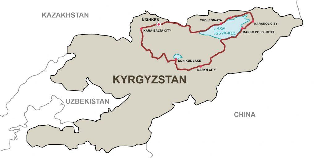 12-дневный мототур по Кыргызстану — «По следам кочевников».