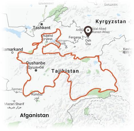 10 Дней в Таджикистане